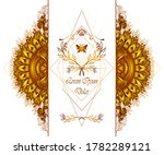 template of deign  of abstract... | Shutterstock .eps vector #1782289121