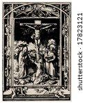 crucifixion. antiques religion
