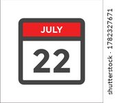 red and black calendar icon w... | Shutterstock .eps vector #1782327671