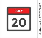 red and black calendar icon w... | Shutterstock .eps vector #1782327677