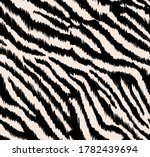 Zebra Fabric Design Seamless...