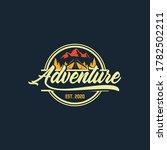 logo  camping logo element for... | Shutterstock .eps vector #1782502211