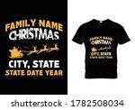 family name christmas city ...   Shutterstock .eps vector #1782508034