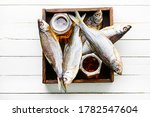 Dried Fish Salty Dry Sea Fish...