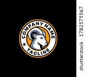 goat head logo icon design...   Shutterstock .eps vector #1782575567