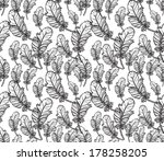 vector seamless pattern with... | Shutterstock .eps vector #178258205
