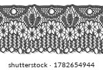trim lace ribbon for decorating ... | Shutterstock .eps vector #1782654944