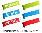 sale and discount price labels... | Shutterstock . vector #1782660824