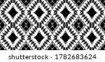 black white gray pattern fabric ... | Shutterstock .eps vector #1782683624