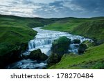 blue river captured with long... | Shutterstock . vector #178270484