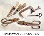 Vintage Carpentry Tools Over...