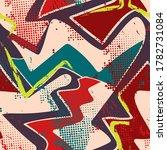 urban seamless abstract pattern ...   Shutterstock .eps vector #1782731084