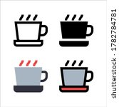 simple coffee icon design in...