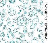 simple seamless pattern of cute ...   Shutterstock .eps vector #1782856697