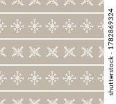 seamless winter snowflake...   Shutterstock .eps vector #1782869324
