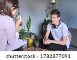 Teenage Boy At Meeting With...