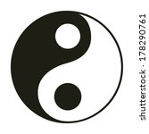 yin   yang symbol. | Shutterstock .eps vector #178290761