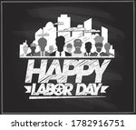 happy labor day poster ... | Shutterstock .eps vector #1782916751