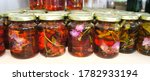 Jam From Herbs And Flowers In...
