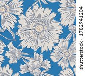 hand drawn abstract garden... | Shutterstock .eps vector #1782941204