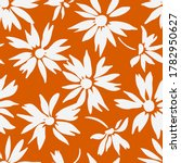 floral background with daisies. ...   Shutterstock .eps vector #1782950627