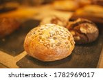 Village Bread. Round Bread....