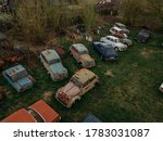 Old Rusty Abandoned Retro Cars...