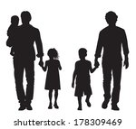 gay family | Shutterstock .eps vector #178309469