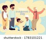 happy family  parents ... | Shutterstock .eps vector #1783101221