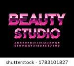 vector stylish sign beauty...   Shutterstock .eps vector #1783101827