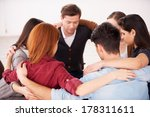 circle of trust. group of... | Shutterstock . vector #178311611