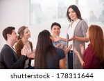 i have an issue. group of... | Shutterstock . vector #178311644