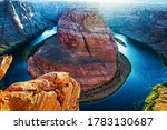 Arizona Horseshoe Bend In Grand ...