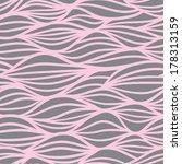 Wave Pattern. Seamless Texture...