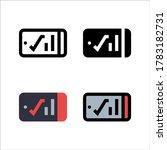 simple smartphone icon design...