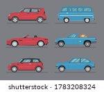 types of cars. transport design ... | Shutterstock .eps vector #1783208324