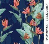Watercolor Pattern Of...