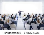 business conference and... | Shutterstock . vector #178324631