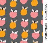 seamless pattern hand drawn... | Shutterstock .eps vector #1783254227