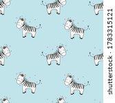 childish seamless pattern cute... | Shutterstock .eps vector #1783315121