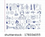 medical icons idea design | Shutterstock .eps vector #178336055