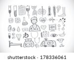 medical icons idea design | Shutterstock .eps vector #178336061