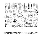 medical icons idea design | Shutterstock .eps vector #178336091