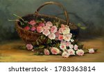 Bouquet Of Border Roses In A...