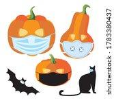 Halloween Pumpkin In Medical...