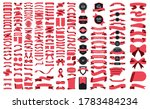 beautiful ribbons  tags and... | Shutterstock .eps vector #1783484234