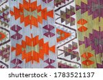 a handmade carpet pattern as...   Shutterstock . vector #1783521137