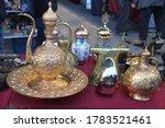 antique souvenirs at a bazaar   Shutterstock . vector #1783521461