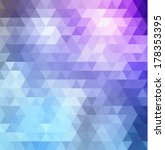 colorful geometric background.... | Shutterstock .eps vector #178353395