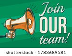 join our team   sign with drawn ...   Shutterstock .eps vector #1783689581